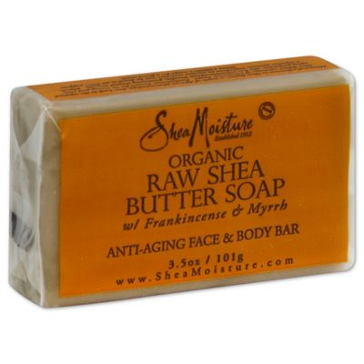 SheaMoisture 3.5 oz. Organic Raw Shea Butter Soap