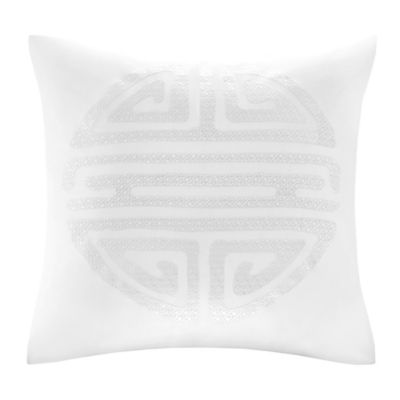 Embroidered Square Pillow
