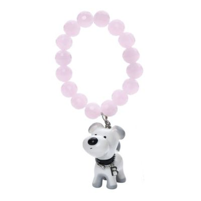 Ponytail Pals® Small Buddy Bracelet in Pink