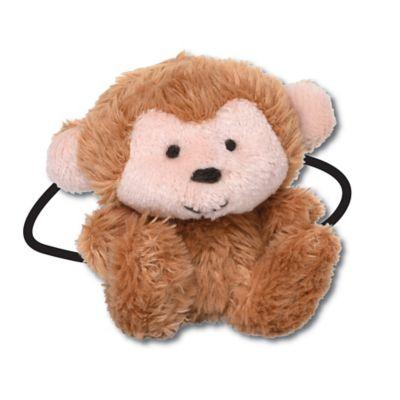 Ponytail Pals® Plush Monkey Ponytail Holder in Brown