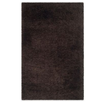 Safavieh Thom Filicia Shag 5-Foot x 7-Foot Rug in Brown