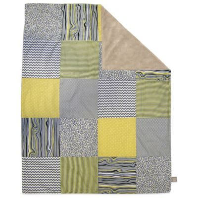 Trend Lab® Hello Sunshine 2-Layer Patched Receiving Blanket