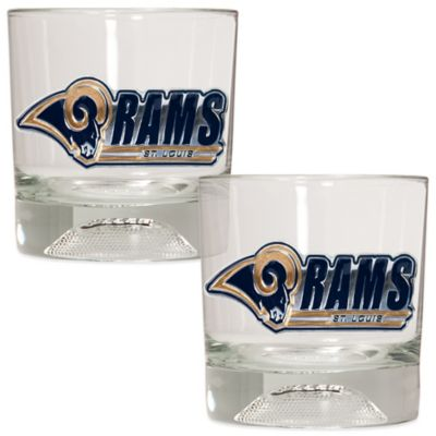 NFL Rocks Glass