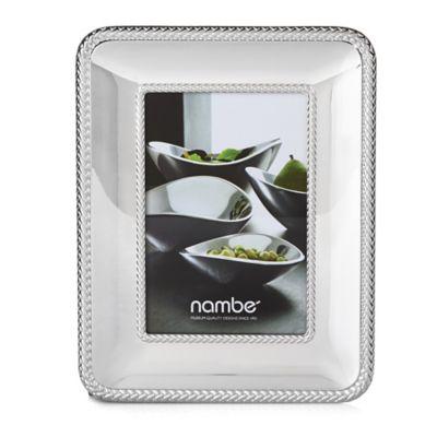 Nambe 4-Inch x 6-Inch Braid Frame