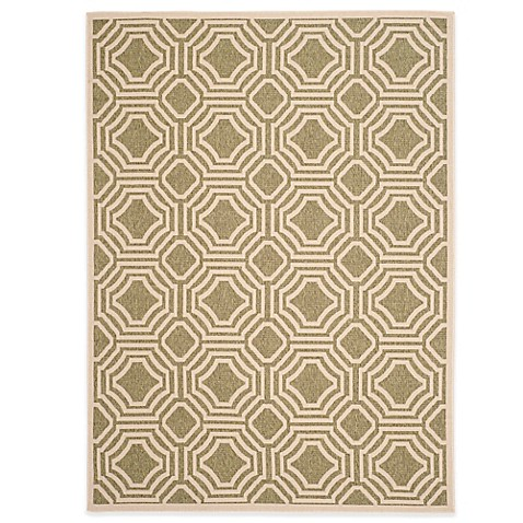 Safavieh veranda deco trellis indoor outdoor rug bed for Deco veranda