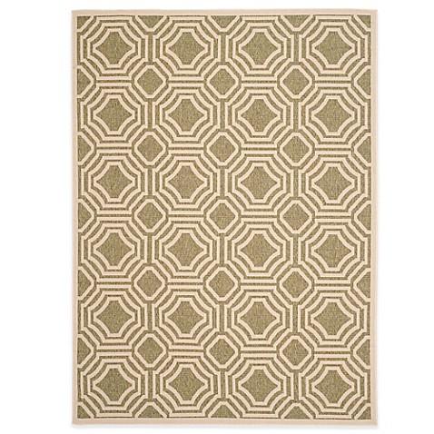 safavieh veranda deco trellis indoor outdoor rug bed bath beyond. Black Bedroom Furniture Sets. Home Design Ideas