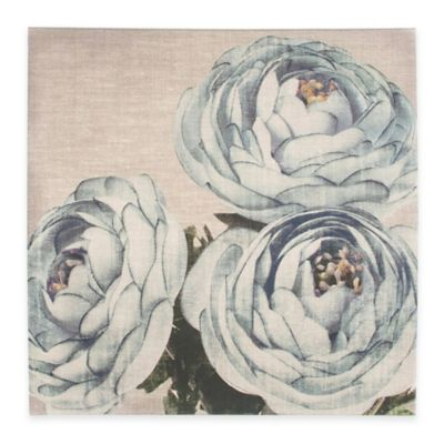 Linen Floral Trio Wall Art