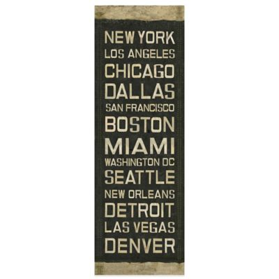 National Roll Sign Canvas Wall Art