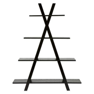 Southern Enterprises X Etagere in Black