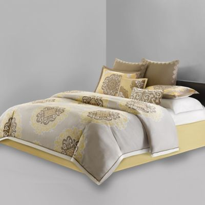 N Natori® Medallion Queen Comforter Set in Multi