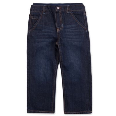 Lee® Size 2T Relaxed Knit Waistband Jean in Dark Denim Blue