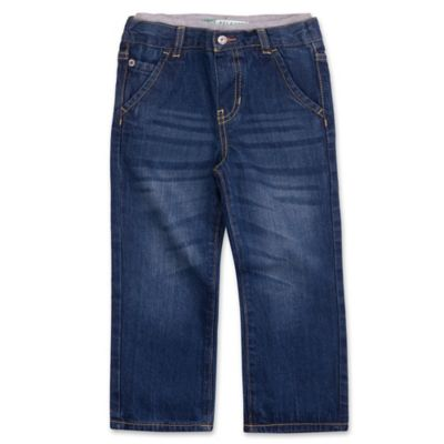 Lee® Size 2T Relaxed Jean with Knit Waistband in Denim