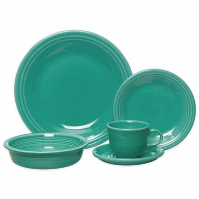 5-Piece Place Setting in Turquoise