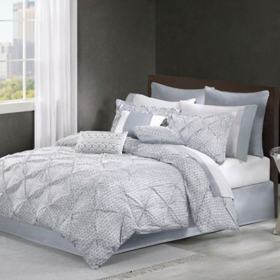 Echo Design™ Dot Kat Queen Comforter Set in Grey