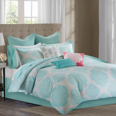 Echo Design™ Bindi Full Comforter Set in Aqua