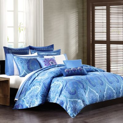 Echo Design™ Jakarta Queen Comforter Set in Blue