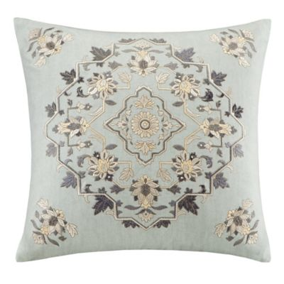Echo Design™ Caravan Square Throw Pillow in Grey