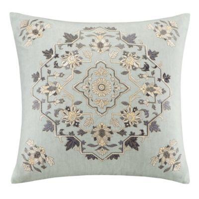Echo Design Throw Pillows : Buy Echo Design Caravan Square Throw Pillow in Grey from Bed Bath & Beyond