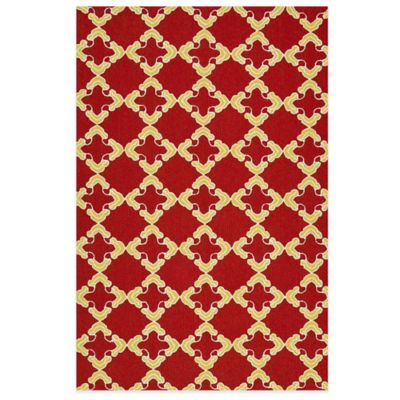 4 x 6 Red Area Rug
