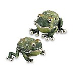 Quest Gifts and Design Salt and Pepper Shaker Set in Frogs