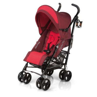 Jane Nanuq Lightweight Umbrella Stroller in Flame