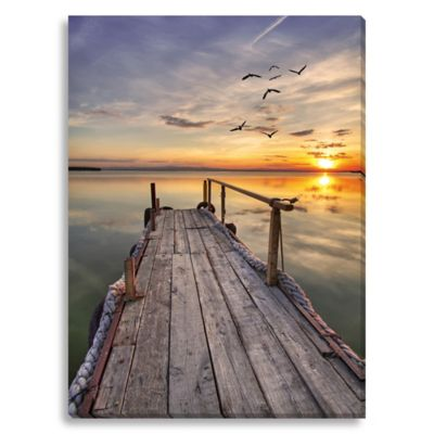 Close of Day Large Photographed Canvas Art