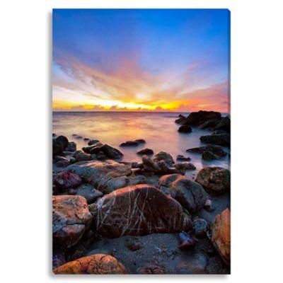 Sunset Large Photographed Canvas Art