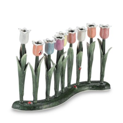 Quest Collection Pastel Tulip Menorah