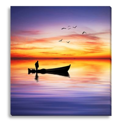 The Last Trip 15-Inch x 16-Inch Canvas Art