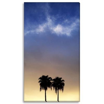 Sunset 14-Inch x 24-Inch Canvas Art