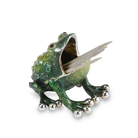 Quest Gifts and Design Toothpick Holder in Frog
