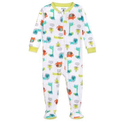 Petit Lem™ Size 12M Jungle of Joy Footed Pajama
