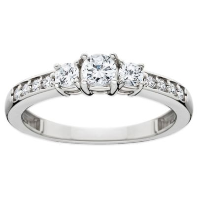 14K 33 Cttw Diamond Ring