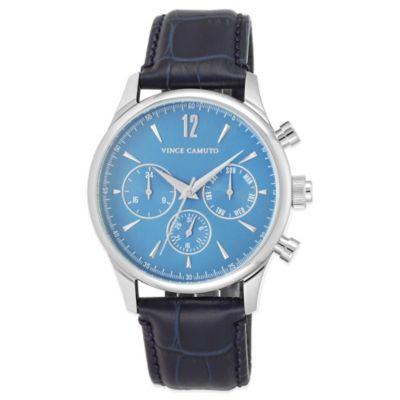 Navy Chronograph Watch