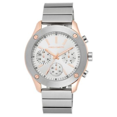 Brushed Stainless Steel Watches