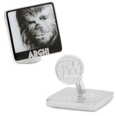 Star Wars™ Silver-Plated Chewbacca Argh Cufflinks