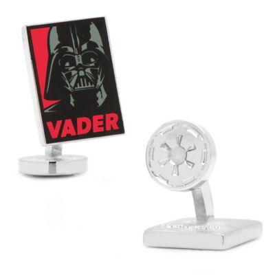 Star Wars™ Enameled Darth Vader Pop Art Poster Cufflinks