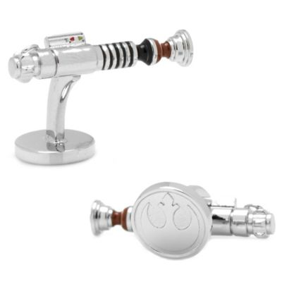 Star Wars™ Luke Skywalker Silver-Plated Lightsaber Cufflinks