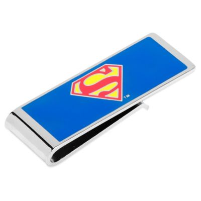 DC Comics™ Silver-Plated Superman Money Clip