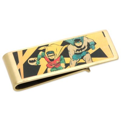 DC Comics™ Bronze-Plated Vintage Batman and Robin Money Clip