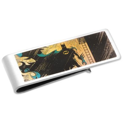 DC Comics™ Silver-Plated Vintage Batman Money Clip