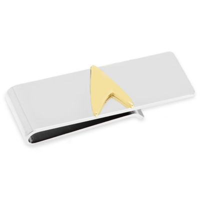 Star Trek Two-Tone Delta Shield Money Clip