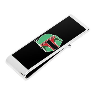 Star Wars™ Silver-Plated Boba Fett Helmet Money Clip