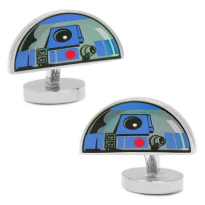 Star Wars™ Silver-Plated R2D2 Dome Cufflinks