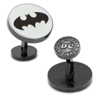 DC Comics™ Glow-In-The-Dark Batman Signal Cufflinks