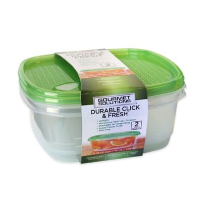 Click & Fresh™ 12.25-Cup Food Storage Containers with Vent Lids (Set of 2)