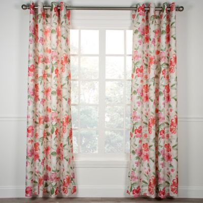Arden 63-Inch Grommet Window Curtain Panel