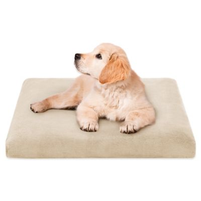 Soft Touch Orthopedic 29-Inch x 39-Inch Pet Napper in Ivory