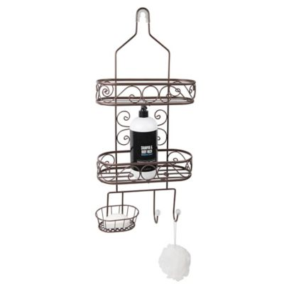 Garden Shower Caddy in Black