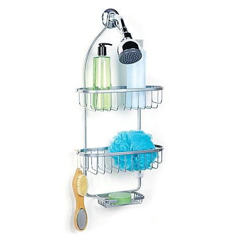 regal chrome shower caddy www bedbathandbeyond com